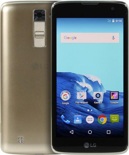 Смартфон LG K7 X210DS black gold