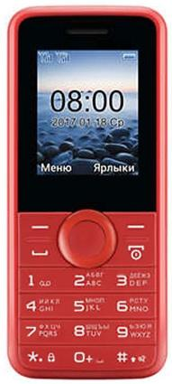 Телефон Philips E106 Red