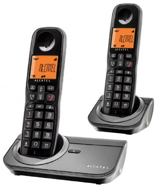 Радиотелефон DECT Alcatel SIGMA 260 DUO черный