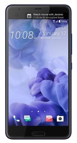 Смартфон HTC U Ultra EEA Brilliant Black 128Gb