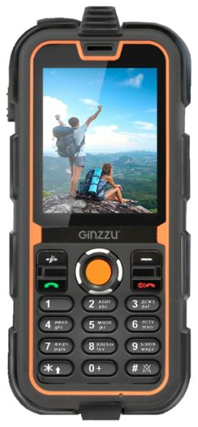 телефон Ginzzu R2 DUAL black orange